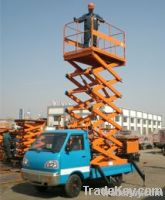 Car Carrying Scissor Lift Table