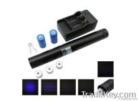 1W blue laser pointer with 5 Star Caps