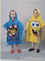 Children Poncho Hooded Towels
