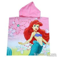 Children Poncho Hooded Towels