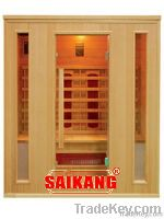 Four type of far infrared saunas