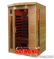 Double type of far infrared sauna