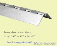 heavy duty industrial continuous hinge