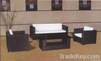 PE rattan sofa sets