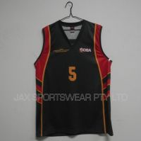sublimation printing basketball singlet , basketball top