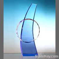 Crystal Trophy, Crystal  Plaque , Crystal Award, Crystal Gift