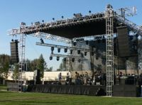 Truss and stage system