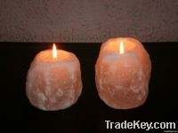 Salt Candle Holders