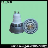 5W Sharp COB LED spotlight GU10 LED light
