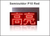 5V P10 led module lightings red display screen semioutdoor 320*160 advertisement signage led display screen