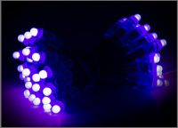 DC5V 12mm RGB led pixel module,IP68 waterproof RGB string christmas decorating lights Independently Addressable LED