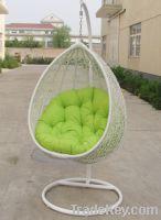 Outdoor furniture rattan swing & hanging chair PR-001-1