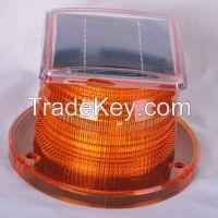 Solar beacon light
