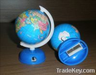 Paper-Sticked Globe(with a  sharpener)