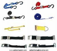 Tie downs, Ratchet Straps, Cam buckle straps, overcenter buckle straps