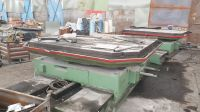 Rotary BoringTable TOS E20, 2000 x 2000 mm