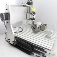 Mini CNC Router with 4th axis