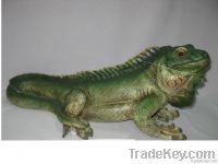Resin Iguana