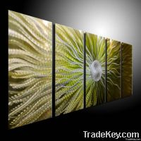 metal abstract painting original art oil painting