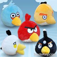Fasionbale angry birds plush toys