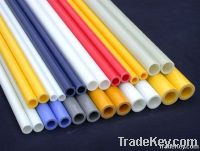 colorful reinforced fiberglass tube