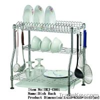 3 Tiers Adjustable Dish Rack