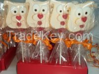 Marshmallow and sweet Jelly lollipops and cakes for whole year and specially seasonal items