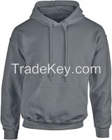 Custom OEM High Quality Fleece Pullover Solid Color Over sized Hoodie