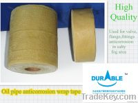 Oil tape for embedded valve, flange fittings, pipe anticorrosion