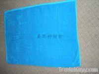 Cotton plain cut pile towel