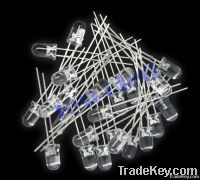 1000PCS 5MM UV  Ultra Brightt Round LED , 5mm UVLED diodes