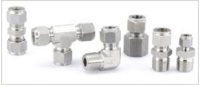 Compression tube fittings in Brass/Carbon Steel/Stainless Steel