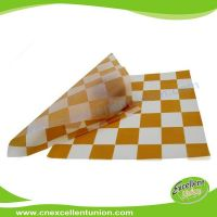 EX-WP-005 Greaseproof Food Packaging Paper for Wrapping Hamburgers, hot dog, bread
