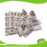 EX-WP-032 Greaseproof Food Packaging Paper for Wrapping Hamburgers, hot dog, bread