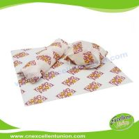 EX-WP-003 Greaseproof Food Packaging Paper for Wrapping Hamburgers, hot dog, bread