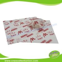EX-WP-007 Greaseproof Food Packaging Paper for Wrapping Hamburgers, hot dog, bread