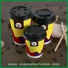 Disposable Diamond Spot Custom Paper Cup for Hot Beverage