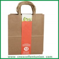 Kraft paper packaging bag Take Away bag Paper Bags Paper Shopping bag Customized Delivery Paper Bag