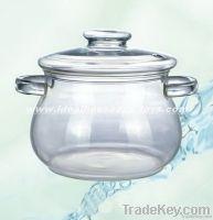 Glass Cooking Pot