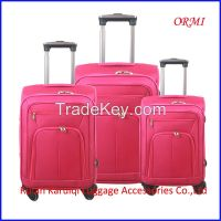 cheap soft eva travel trolley luggage