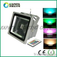30w rgb color changing IP65 CE&RoHS floodlight