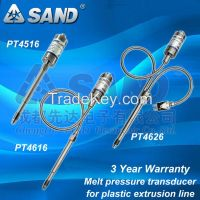 SAND Melt pressure transducer for extrusion line