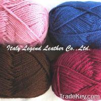 100% wool yarn