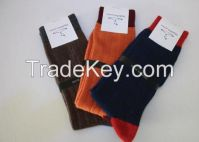 "CASHMERE RIB SOCKS ""PIRANDA Clothes"""