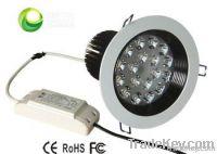 led dowm light 18w 1600lm