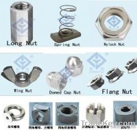 stainless steel nuts(hex, square, round, *****)