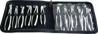 Dental Extracting Forceps English pattern 11 Piece set