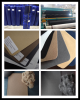 Polyester Nonwoven Fabric Needle Punching Fabric Synthetic leather backing for Shoe Lining