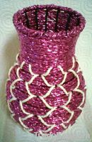 Pure hand-woven vases