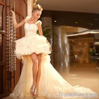 Large Tail Wedding Dresses